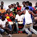 Guinean Dancing  by Renee Rushing