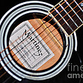 Guitar Abstract 1 by Kaye Menner