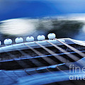 Guitar Abstract 4 by Kaye Menner