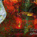 Guitar ..abstract  by Elaine Manley