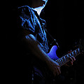 Guitarist In Blue by Rick Berk