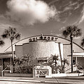Gulfport Casino In Sepia by Tammy Wetzel