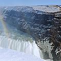 Gullfoss Falls by Chris Madeley