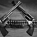 Guns In Black And White by Kristin Elmquist