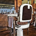 H J Barber Shop by Susan Candelario