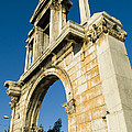 Hadrians Arch In Athens, Greece by Richard Nowitz