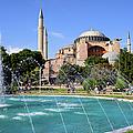 Hagia Sofia In Istanbul by Artur Bogacki