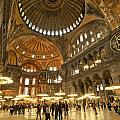 Hagia Sophia In Istanbul by Michele Burgess