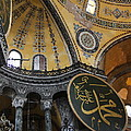 Hagia Sophia Interiour  by Christiane Schulze Art And Photography