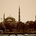 Hagia Sophia Istanbul by Georgeta  Blanaru