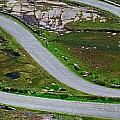 Hairpin Bends In The, Healy Pass, Beara by The Irish Image Collection