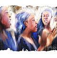Haitian Chorus Singers by Bob Salo