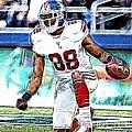 Hakeem Nicks - Sports - Football by Paul Ward