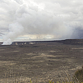 Halemaumau Crater Of Kilauea Volcano by Fahad Sulehria