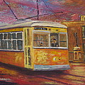 Halifax Trolley by Marshall Desveaux