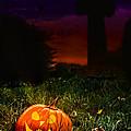 Halloween Cemetery by Amanda Elwell