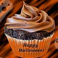Halloween Cupcake by Stephanie Campbell