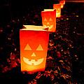 Halloween Paper Lanterns by Edward Fielding