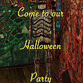Halloween Party Invitation - Skeleton by Mother Nature