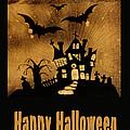 Halloween Quilt Top by Nancy Greenland