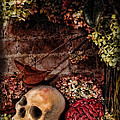 Halloween Still Life by Joan  Minchak