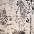 Halloween Witch Walk by Maria Urso