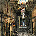 Hallway Eastern State Penitentiary  by Dave Mills
