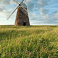 Halnaker Windmill On A July Afternoon by Slawek Staszczuk