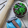 Hammer Cupcake by Garry Gay