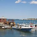 Hammond Pier by Ruth H Curtis