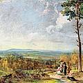 Hampstead Heath Looking Towards Harrow by John Constable