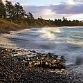 Hana Beach And Wave by Jenna Szerlag