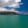 Hanalei Bay Kauai by Roger Mullenhour
