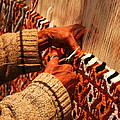 Hands Of The Carpet Weaver by Laurel Talabere