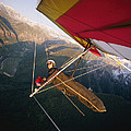 Hang Gliding With Wing-mounted Camera by Skip Brown