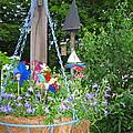 Hanging Basket  by Nancy Patterson