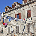 Hanging Out To Dry In Rovinj by Madeline Ellis