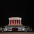 Hanoi Ho Chi Minh Mausoleum by Shaun Higson