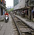 Hanoi Train Tracks by Shaun Higson