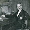 Hans Christian �rsted, Danish Physicist by Photo Researchers