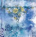 Happy Birthday - Card Design by Christopher Gaston