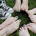 Happy Feet by LeeAnn McLaneGoetz McLaneGoetzStudioLLCcom