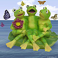 Happy Frogs by Brian Wallace