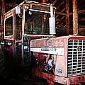 Happy Harvestor Tractor by Marilyn Hunt