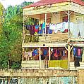 Happy Hour Washday Belize by Rebecca Korpita