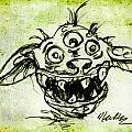 Happy Monster  by Nada Meeks