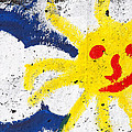 Happy Sun Face by Gaspar Avila