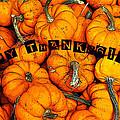 Happy Thanksgiving Art by David Lee Thompson