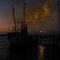 Harbor At Dusk by Joseph G Holland