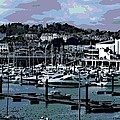 Harbor At Torquay by George Pedro